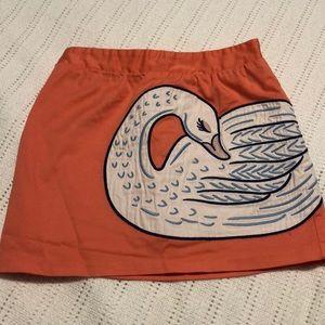 OshKosh Swan Skirt